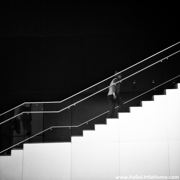 MOMA Stairs | Hello Little Home