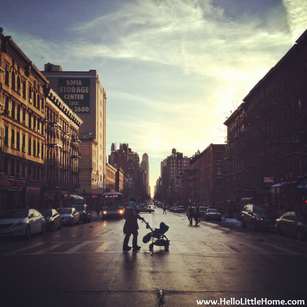 Upper West Side Street | Hello Little Home