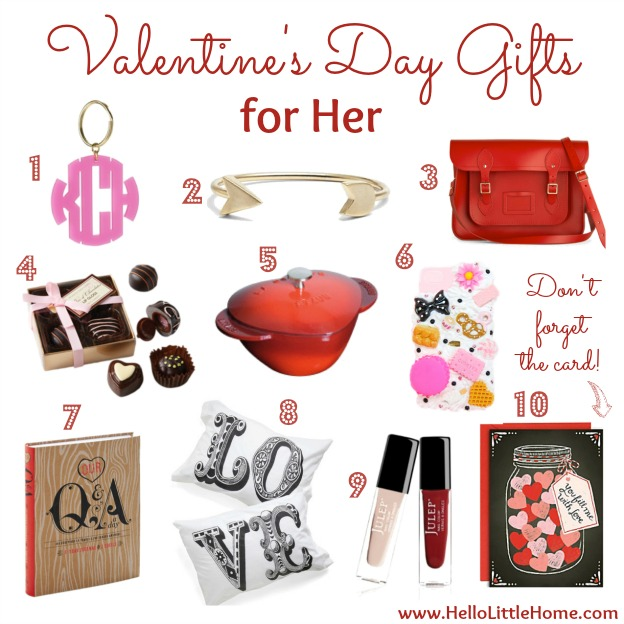 Valentine 39 s day gifts for him her for Small valentines gifts for him