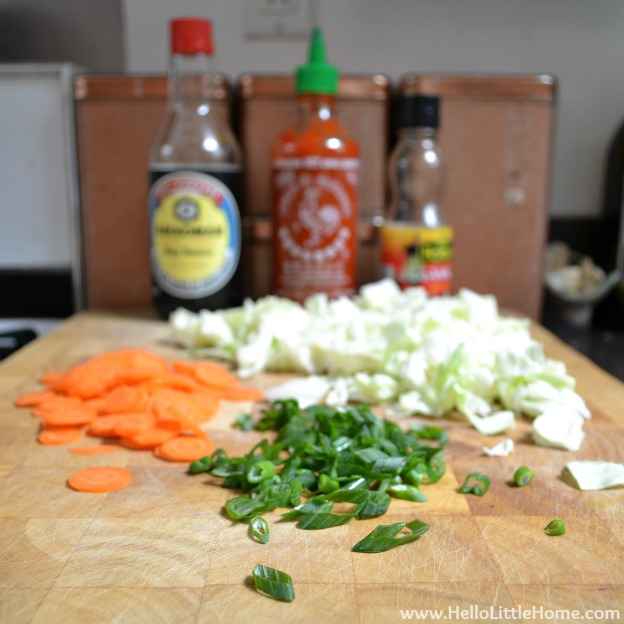 Easy-Asian Dumpling Soup Ingredients | Hello Little Home #MotivationMonday #recipe #healthy