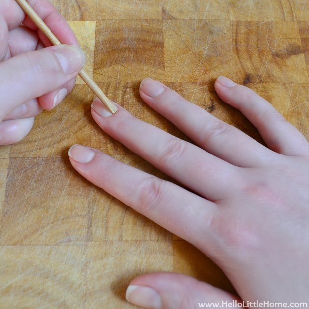 Easy At-Home Manicure: Push Back Cuticles | Hello Little Home #manicure #Julep