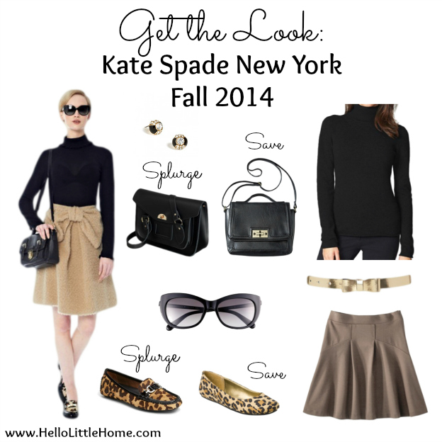 Get the Look: Kate Spade New York Fall 2014 | Hello Little Home