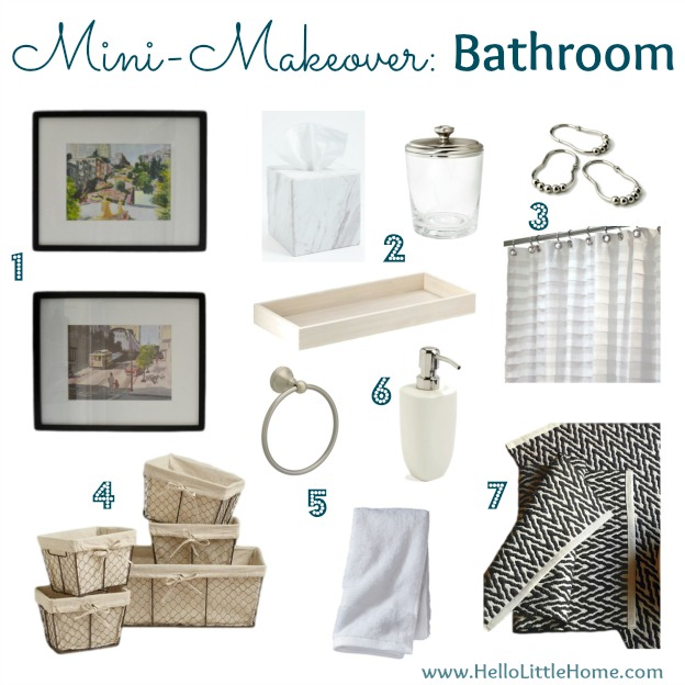 Mini-Makeover: Bathroom | Hello Little Home
