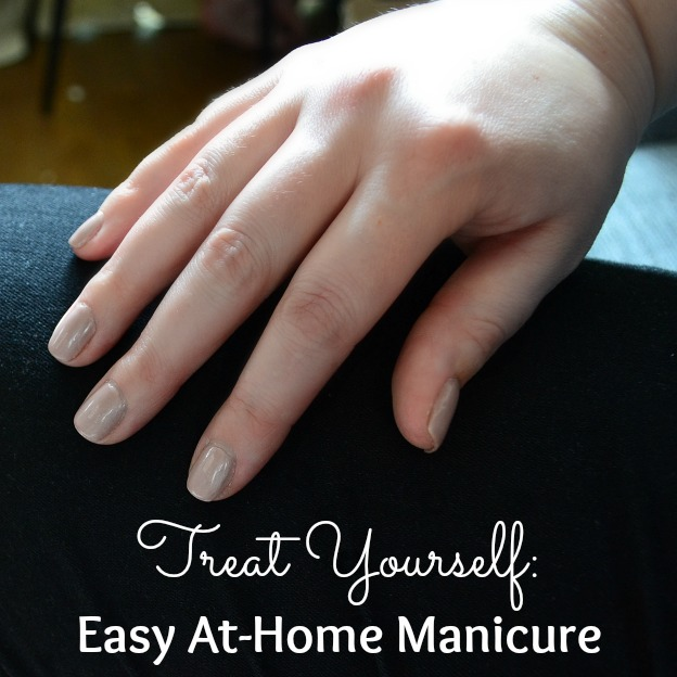 Treat Yourself: Easy At-Home Manicure | Hello Little Home #manicure #nailpolish