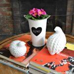 Valentine's Day Decor Around My Home: Flowers | Hello Little Home