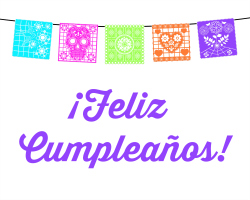 Fiesta Birthday Party: Feliz Cumpleanos Printable | Hello Little Home