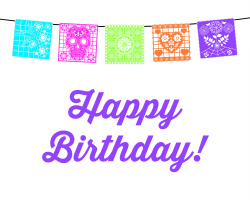 Fiesta Birthday Party: Happy Birthday Printable | Hello Little Home