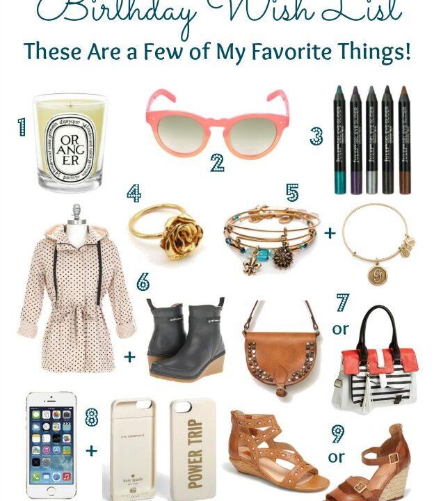 Birthday Wish List | Hello Little Home #Fashion #Shopping #Beauty #Present