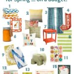 Brighten Up Your Home for Spring ... on a Budget | Hello Little Home #InteriorDesign #Decor #Bargain