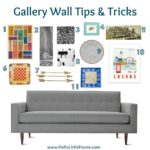 Gallery Wall Tips & Tricks | Hello Little Home #Interior Design #Decor #Art