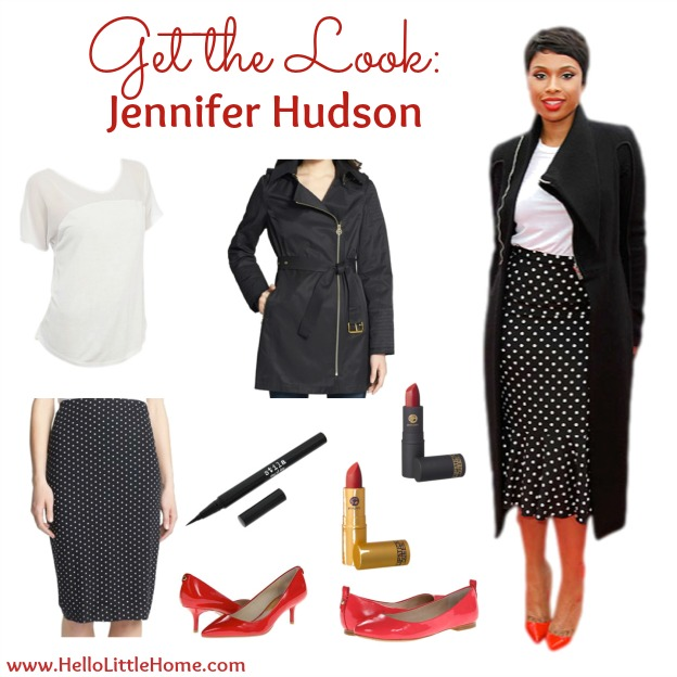 Get the Look: Jennifer Hudson | Hello Little Home #CelebrityStyle #fashion #style