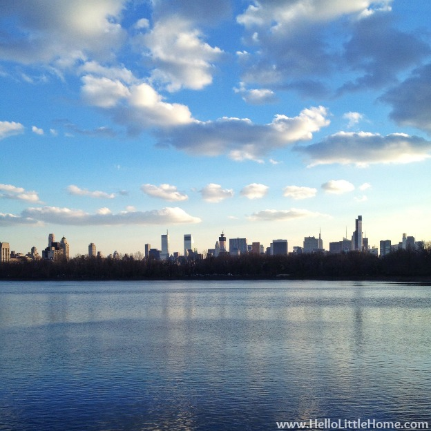 New York Central Park Reservoir View | Hello Little Home