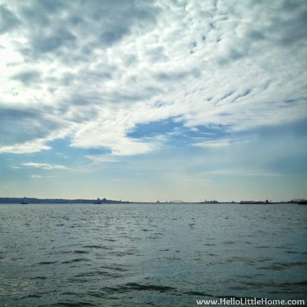 New York Harbor | Hello Little Home