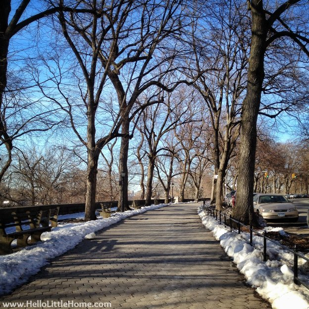 Riverside Park New York | Hello Little Home