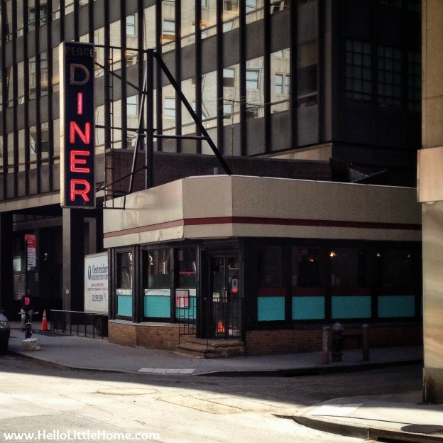 Pearl Diner in New York | Hello Little Home