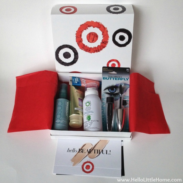 Target Beauty Box | Hello Little Home