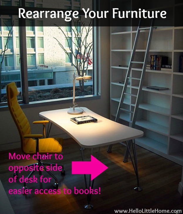 5 Ways to Improve Your Home for Free: Rearrange Your Furniture | Hello Little Home