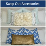 5 Ways to Improve Your Home for Free: Swap Out Accessories | Hello Little Home