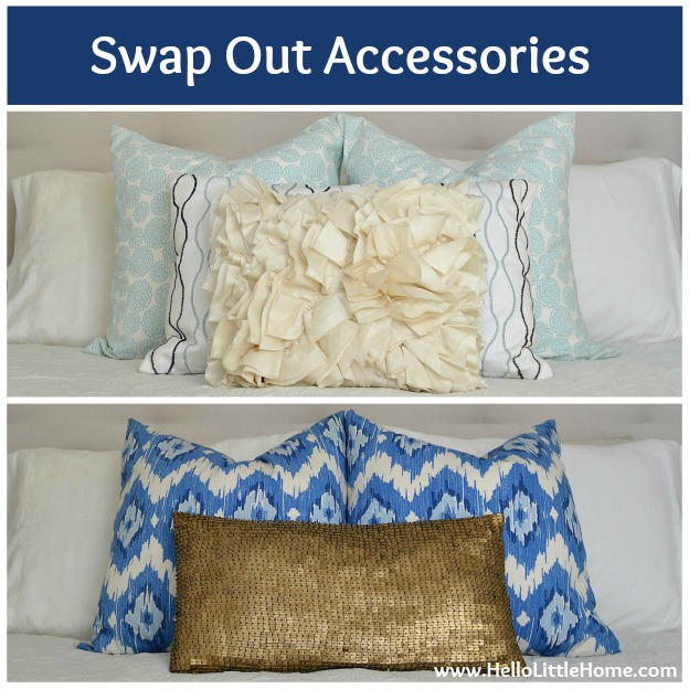 5 Ways to Improve Your Home for Free: Swap Out Accessories   Hello Little Home