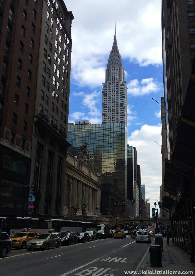 Chrysler Building in New York | Hello Little Home