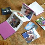DIY Mother's Day Accordion Book | Hello Little Home #bookmaking #craft #bookbinding