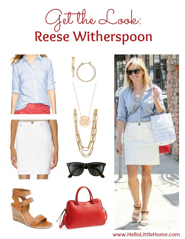 Get the Look: Reese Witherspoon   Hello Little Home