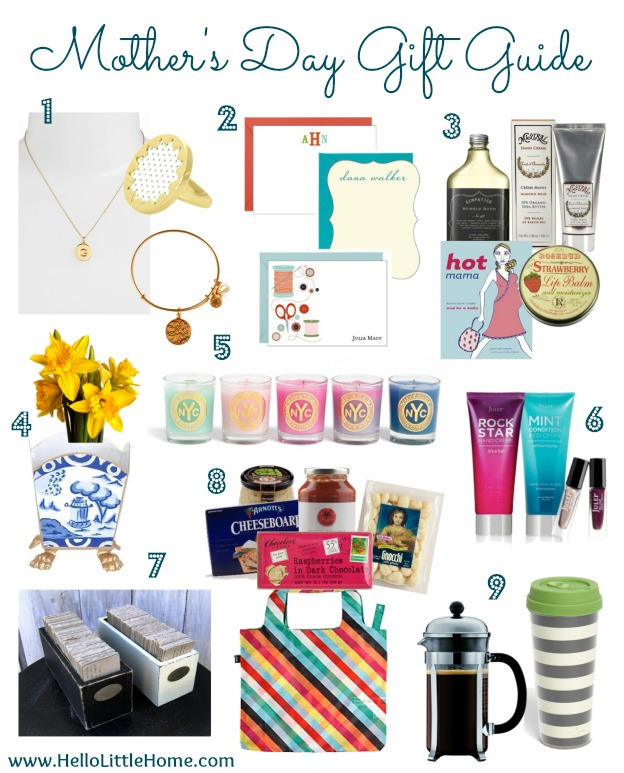 Mother's Day Gift Guide | Hello Little Home #MothersDay #present #GiftGuide