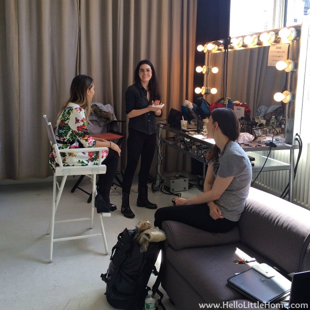 People StyleWatch - Mary Kay Photo Shoot: Makeup Area   Hello Little Home