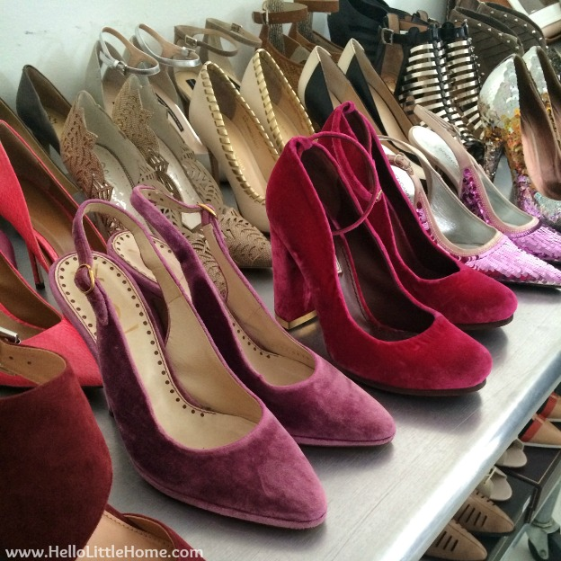People StyleWatch - Mary Kay Photo Shoot: Gorgeous Shoes | Hello Little Home
