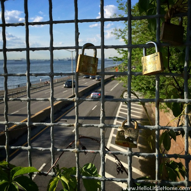 Locks on a Overpass | Hello Little Home