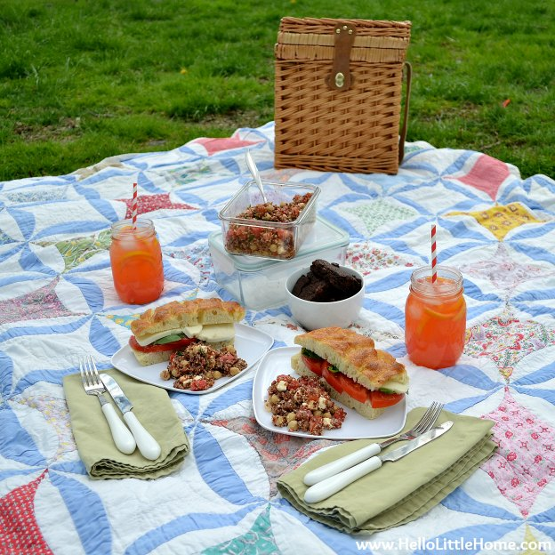 Motivation Monday: Picnic in the Park: Hello Little Home