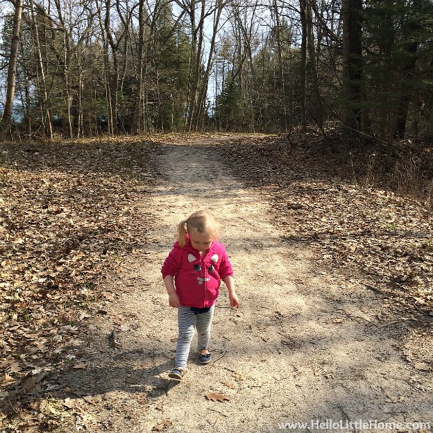 My Niece, Savanna at Whitefish Dunes State Park | Hello Little Home