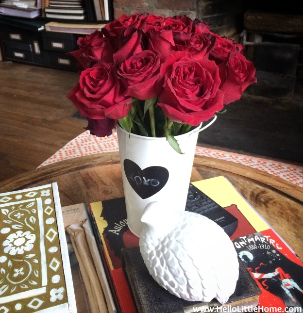 Roses from My Husband | Hello Little Home