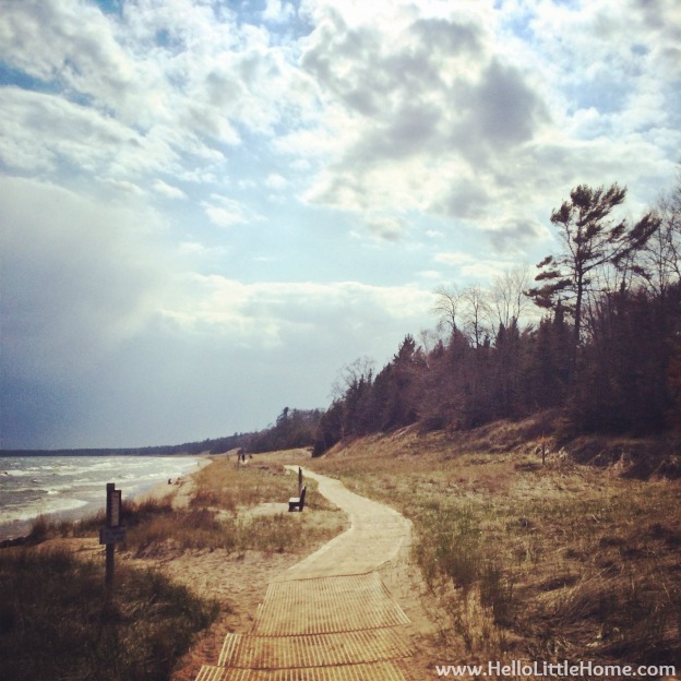 Whitefish Dunes State Park | Hello Little Home