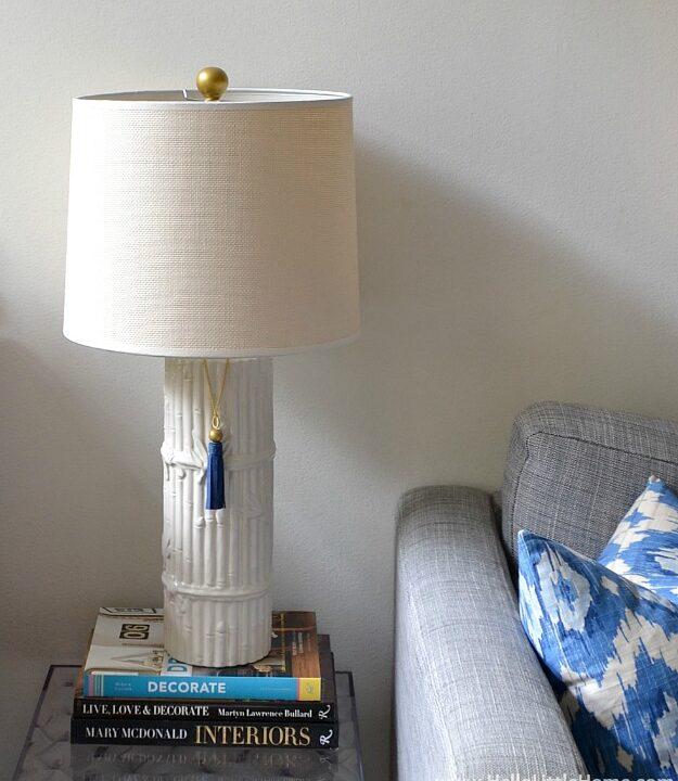 DIY Gold Finial   Hello Little Home #InteriorDesign #Decor #Lamp