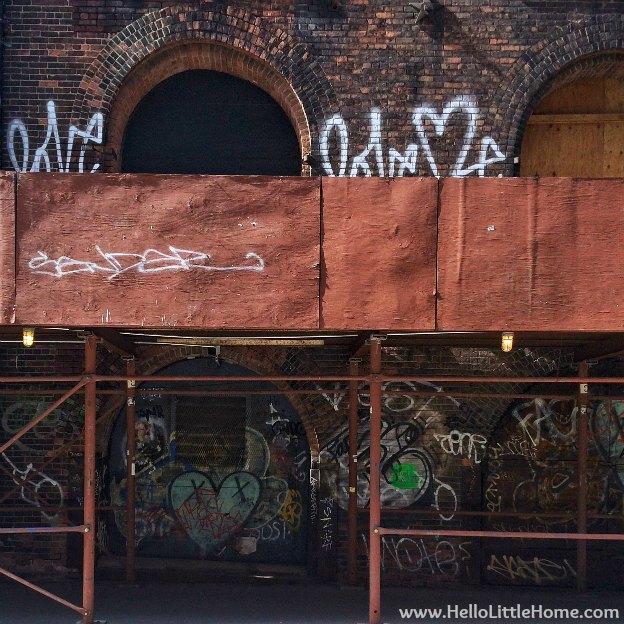 Construction Graffiti Heart   Hello Little Home