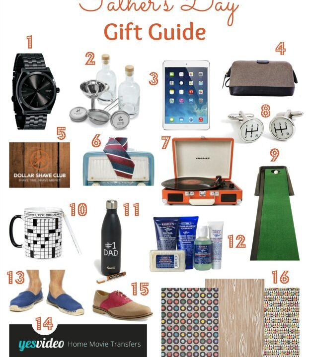Father's Day Gift Guide | Hello Little Home #holiday #dad #present