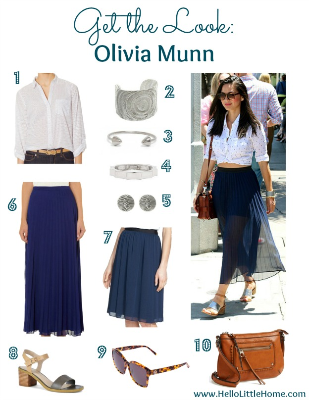 Get the Look: Olivia Munn | Hello Little Home #style #fashion