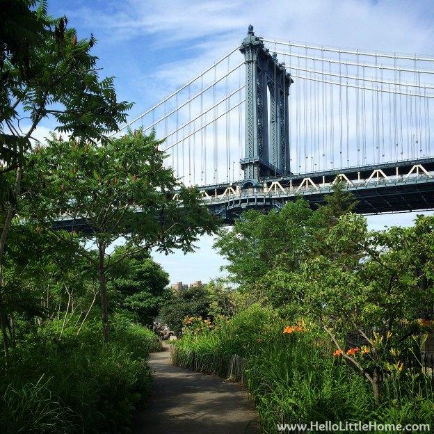 Manhattan Bridge   Hello Little Home
