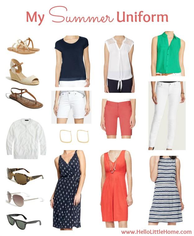 My Summer Uniform | Hello Little Home #style #fashion #clothes