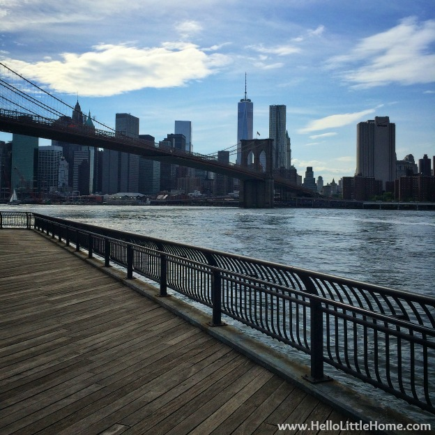 NYC and the Brooklyn Bridge | Hello Little Home