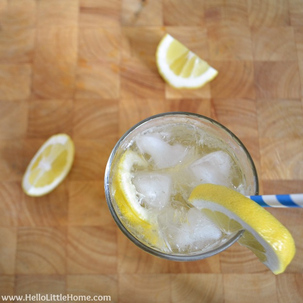 Lemonade Shandy: The Perfect Summer Refresher | Hello Little Home #drink #cocktail #beer