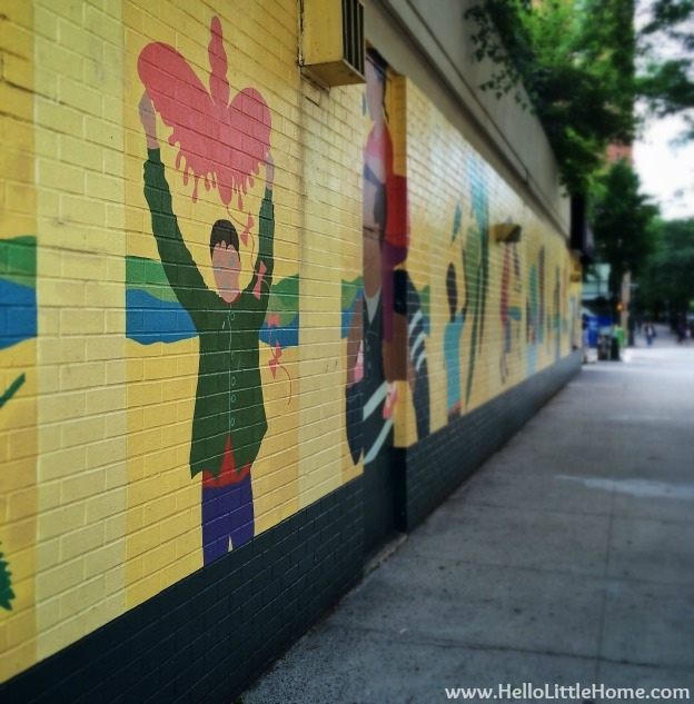 Upper West Side Mural | Hello Little Home