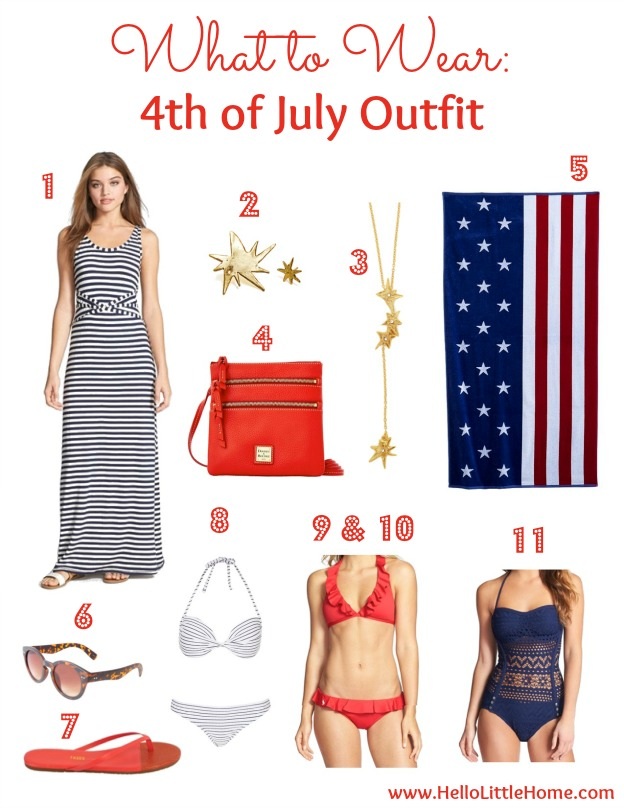 What to Wear: 4th of July Outfit