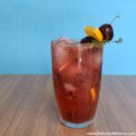 Cherry Smash Cocktail | Hello Little Home