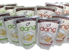 Fancy Food Show Favorites: Dang Coconut Chips Hello Little Home #SpecialtyFoods #snack