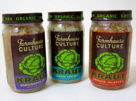 Fancy Food Show Favorites: Farmhouse Culture Kraut | Hello Little Home #sauerkraut #fermented #raw