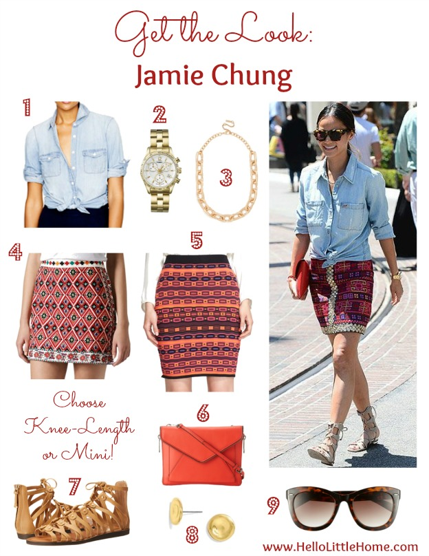 Get the Look: Jamie Chung | Hello Little Home #fashion #style