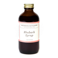 Fancy Food Show Favorites: Morris Kitchen Rhubarb Syrup | Hello Little Home #SimpleSyrup #shrub
