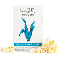 Fancy Food Show Favorites: Quinn Vermont Maple & Sea Salt Popcorn | Hello Little Home